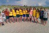 Lietuvos merginų softbolo rinktinė beveik užsitikrino vietą tarp 8 geriausių Europos komandų