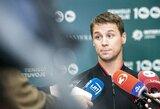 Lietuvos teniso rinktinei – šeštosios pasaulio raketės vedamų varžovų iššūkis