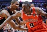"""""""Bulls"""" jau penktus metus iš eilės įveikė """"Pistons"""" klubą"""