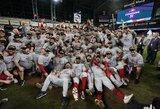"""50 metų lauktas triumfas: """"Nationals"""" po 7 rungtynių dramos laimėjo MLB superfinalo seriją"""