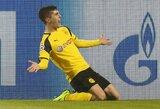 """Vokietijos """"Bundesliga"""": futbolininką praradę """"Borussia"""" išsigelbėjo rungtynėse su """"Hoffenheim"""""""