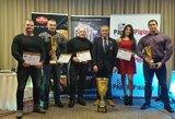Marijampolėje įvyko IFBB Lietuvos kultūrizmo ir kūno rengybos federacijos apdovanojimų ceremonija