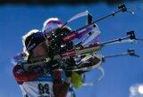 IBU taurės etapo sprinte Lietuvos biatlonininkai nežibėjo
