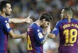 """""""Barcelona"""" Ispanijos čempionate ketvirtą kartą iš eilės nesugebėjo iškovoti pergalės"""