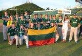 Lietuviai pasaulio jaunučių beisbolo čempionate liko paskutiniai