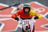 V.Rimšaitė ir G.Pabijanskas Europos BMX taurės etape Danijoje neįveikė pusfinalio barjero