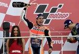 """M.Marquezas – triskart """"MotoGP"""" čempionas"""