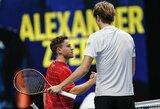 """A.Zverevas iškovojo pirmąją pergalę """"ATP Finals"""" turnyre"""