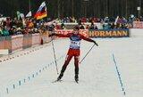 L.Banys pateko į Europos jaunimo biatlono čempionato persekiojimo lenktynes