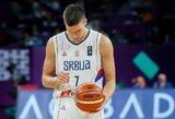 Vengrų neįvertinusi Serbija po nelengvos kovos pasiekė ketvirtfinalį