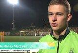 Prieš rungtynes su kroatais – Lietuvos jaunimo futbolo rinktinės pasitikėjimas savo jėgomis