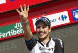 "J.Degenkolbas toliau skina pergales ""Vuelta a Espana"" dviračių lenktynėse"