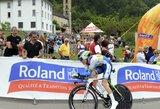 """Pirmajame """"Tour de Suisse"""" dviračių lenktynių etape A.Kruopis – 72-as"""