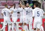 """Pirmajame Barselonoje įvykusiame """"El Clasico"""" mūšyje triumfavo """"Real"""""""