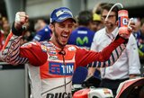 """Priešpaskutines """"MotoGP"""" sezono lenktynes pirmas pradės A.Dovizioso"""