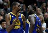 """""""Warriors"""" suspendavo su K.Durantu konfliktavusį D.Greeną"""