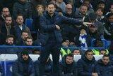 """E.Hazardas: """"F.Lampardas gali tapti vienu geriausių trenerių pasaulyje"""""""