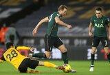 """86-ąją minutę įvartį praleidęs """"Tottenham"""" rungtynes su """"Wolves"""" baigė lygiosiomis"""