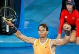 R.Nadalis užbaigė 19-mečio teniso talento žygį
