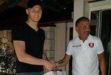 """Oficialu: M.Adamonis ateinantį sezoną žais """"Serie B"""" lygoje"""