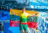 Po čempiono diskvalifikacijos E.Matusevičiui turėtų atitekti Universiados aukso medalis
