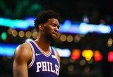 """Geriausi praėjusią savaitę NBA – """"76ers"""" ir """"Trail Blazers"""" atstovai"""