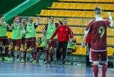 """Dvyliktasis """"Futsal A lygos"""" turas finišavo be didesnių staigmenų"""