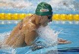 """G.Titenis """"Euro Meet"""" plaukimo varžybose liko per žingsnį nuo medalio"""