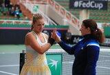 Federacijos taurė: lietuvės nugalėjo Juodkalnijos tenisininkes