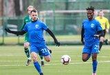 """Lietuvos futbolo A lyga: """"Palanga"""" pirmą sezono pergalę pasiekė prieš """"Atlantą"""""""