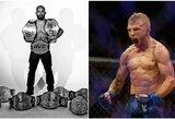 """Absoliutus UFC reitingo lyderis nori """"super"""" kovos su kitu pasaulio čempionu"""