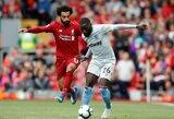 """""""Liverpool"""" kreipėsi į policiją dėl M.Salah"""