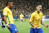 Komandos draugus perdavimais kulnu lepinęs Paulinho padėjo Brazilijai patekti į pasaulio čempionatą