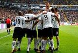 """Vokietijos """"Bundesliga"""": pergalę iškovoję """"Eintracht"""" tęsia puikų sezoną"""
