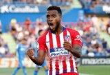 """Ispanijoje """"Atletico"""" po pertraukos vėl džiaugėsi pergale"""