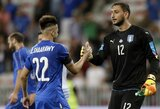 Europos U-21 čempionate G.Donnarumma buvo apmėtytas pinigais
