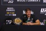 """""""UFC 252"""" algos: trys kovotojai uždirbo daugiau nei po pusę milijono"""