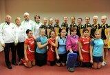 Europos uždarų patalpų riedulio čempionate lietuvaitės nugalėjo Velsą, bet kovos tik dėl 5-8 vietų