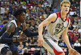 """Vasaros lyga: """"Bulls"""" suomis atliko dvigubą dublį, """"Spurs"""" gynėjas surengė galingą pasirodymą"""