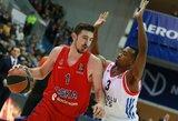 """CSKA seriją su """"Khimki"""" privalės užbaigti be savo lyderio"""