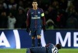 """Prancūzijos """"Ligue 1"""" lyderių akistatoje triumfavo PSG, tačiau neteko Neymaro"""