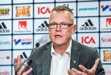 Naujajam Švedijos treneriui labai svarbu, kad jo žaidėjai giedotų šalies himną