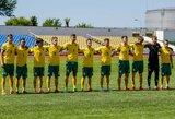U-21 futbolo rinktinė pralaimėjo Latvijai