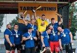 Tarptautinėse galiūnų varžybose Marijampolėje – A.Šmaukštelio triumfas