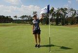 G.B.Starkutė rimtai kėsinosi į Europos golfo čempionato medalį