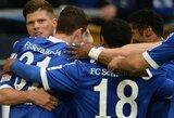 """Dėl vietos Čempionų lygoje kovojanti """"Schalke"""" sutriuškino """"Hamburger"""""""