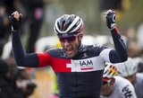 Antrajame dviračių lenktynių Lenkijoje etape G.Bagdonas finišavo kartu su pagrindine grupe