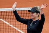 """V.Williams ir toliau negali įveikti E.Svitolinos: amerikietė kovą """"Roland Garros"""" turnyre baigė jau pirmame rate"""