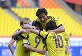 """""""Anzhi"""" futbolininkai filmavosi repo klipe apie savo klubą"""