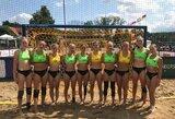 Lietuvos paplūdimio rankinio rinktinė sužinojo varžoves Europos čempionato atrankoje